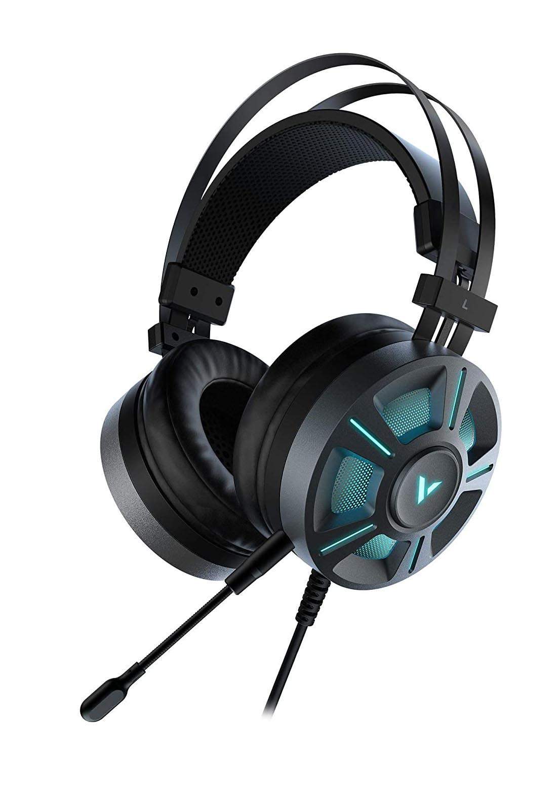 RAPOO VH510 RGB  Virtual 7.1 Gaming Headset  - Black سماعة