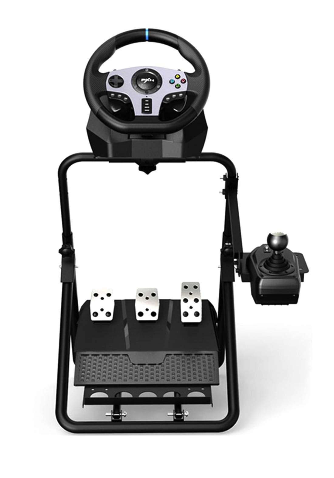 PXN V9 Vibration Feedback Racing Game Steering Whee ستاند ستيرن و كير ومكابح
