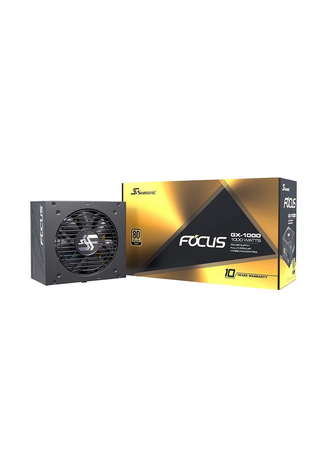 Seasonic FOCUS GX-1000 Cooler Focus Plus 550 Power Supply  - Black  مجهز قدرة
