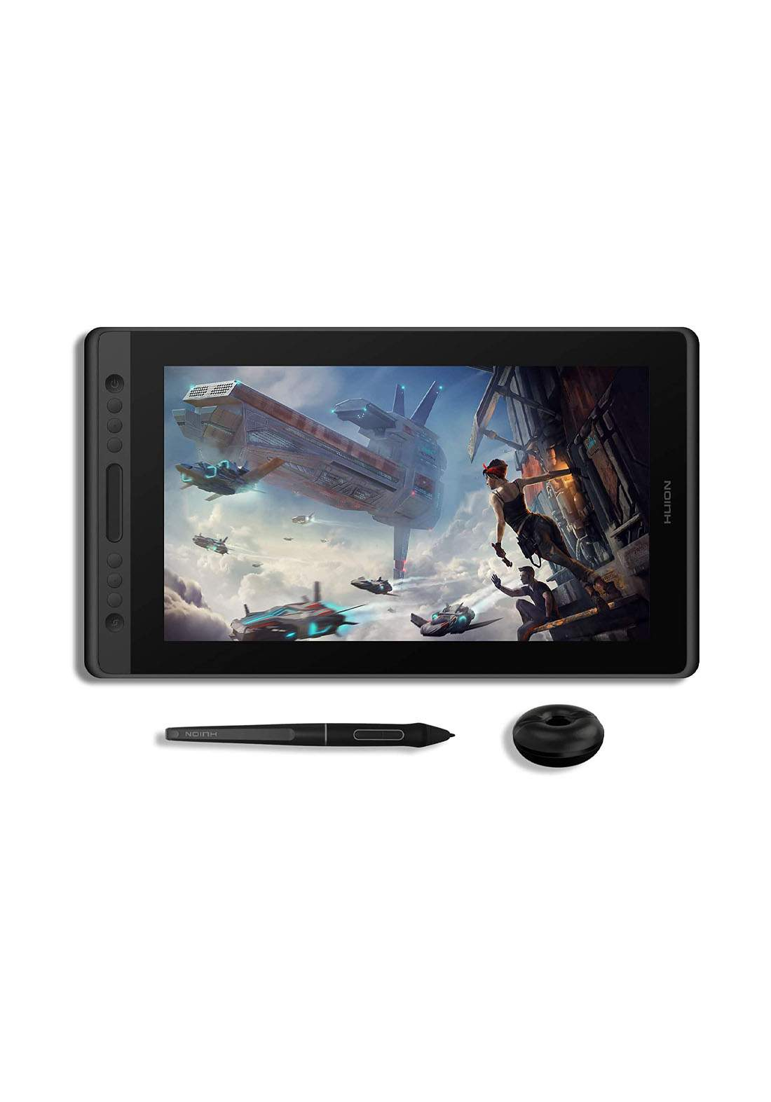 Huion Kamvas Pro 16 Drawing Monitor IPS Full-Laminated Graphic Tablets with Screen Battery-Free تابلت رسم وكتابة