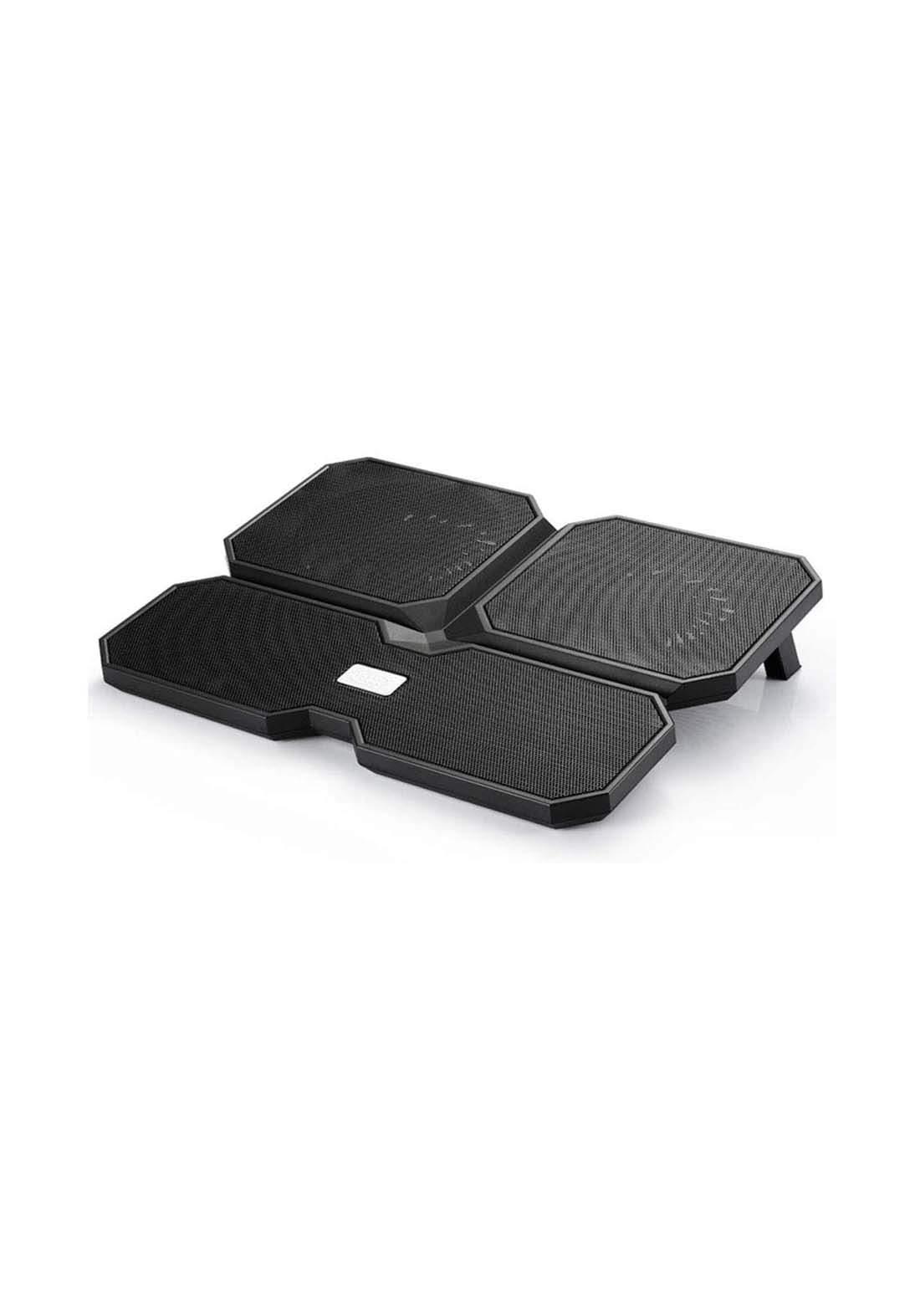 DeepCool  Multi Core X6 Laptop Cooling Pad  - Black مروحة لابتوب