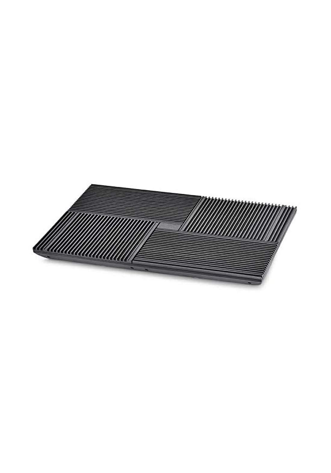 Multi Core X8 Laptop Cooling Pad - Black مروحة لابتوب