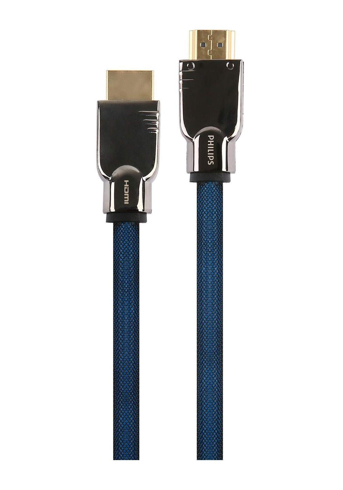 Philips SWL6120K/93D-8 High Speed 4K Ultra HD HDMI Cable 2 m - Blue كابل