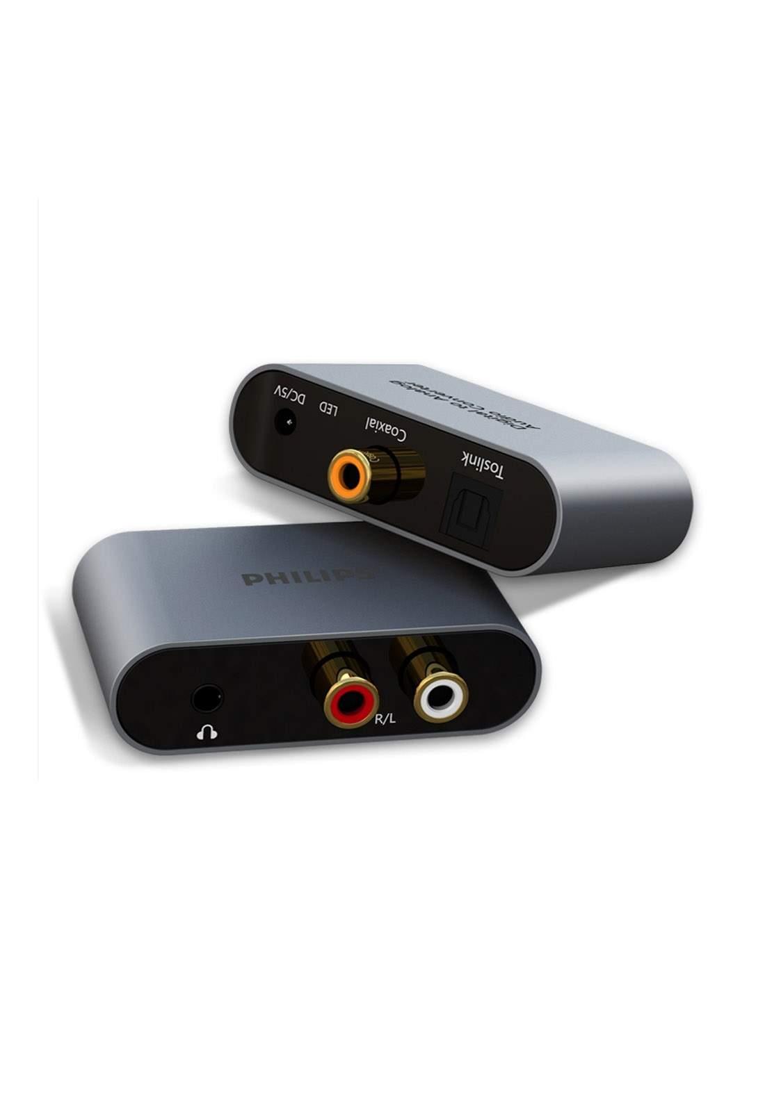 Philips SWR2123X/93 Digital to Analog Converter - Gray محول