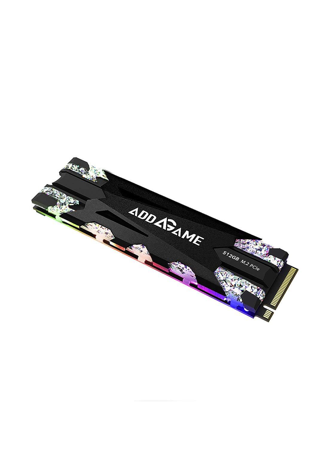 Addlink X70 512GB RGB With Heatsink NVMe PCIe Gen 3x4 Internal SSD هارد داخلي