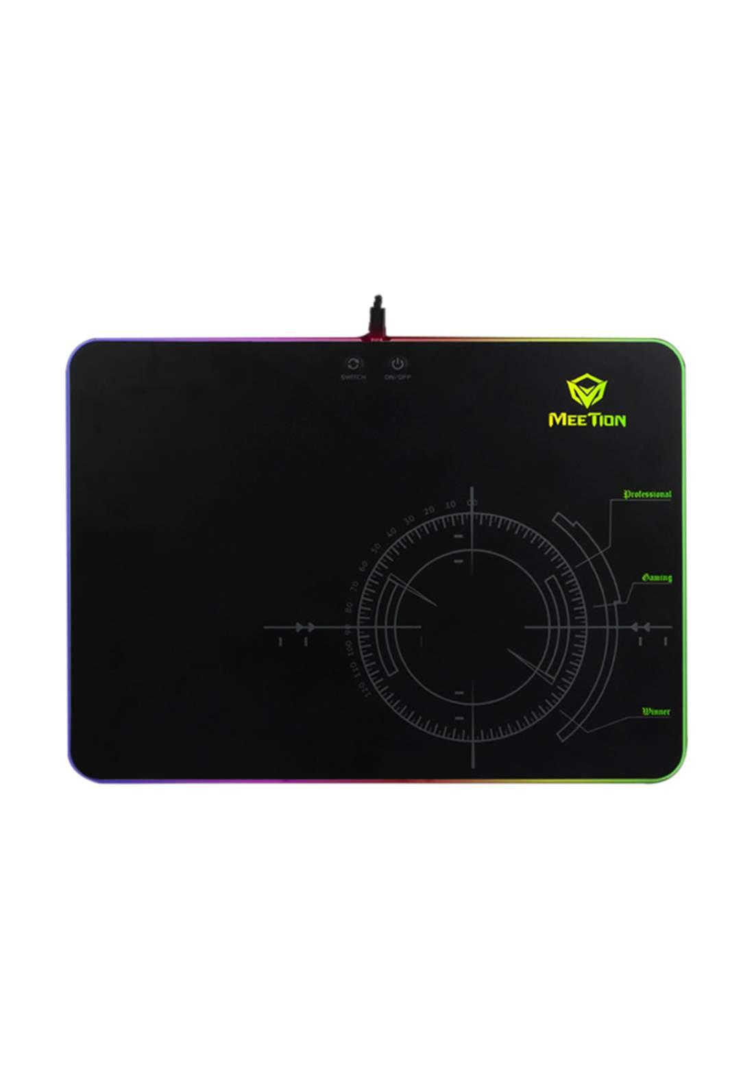 Meetion P010 RGB LED Backlit Gaming Mouse Pad لوحة ماوس