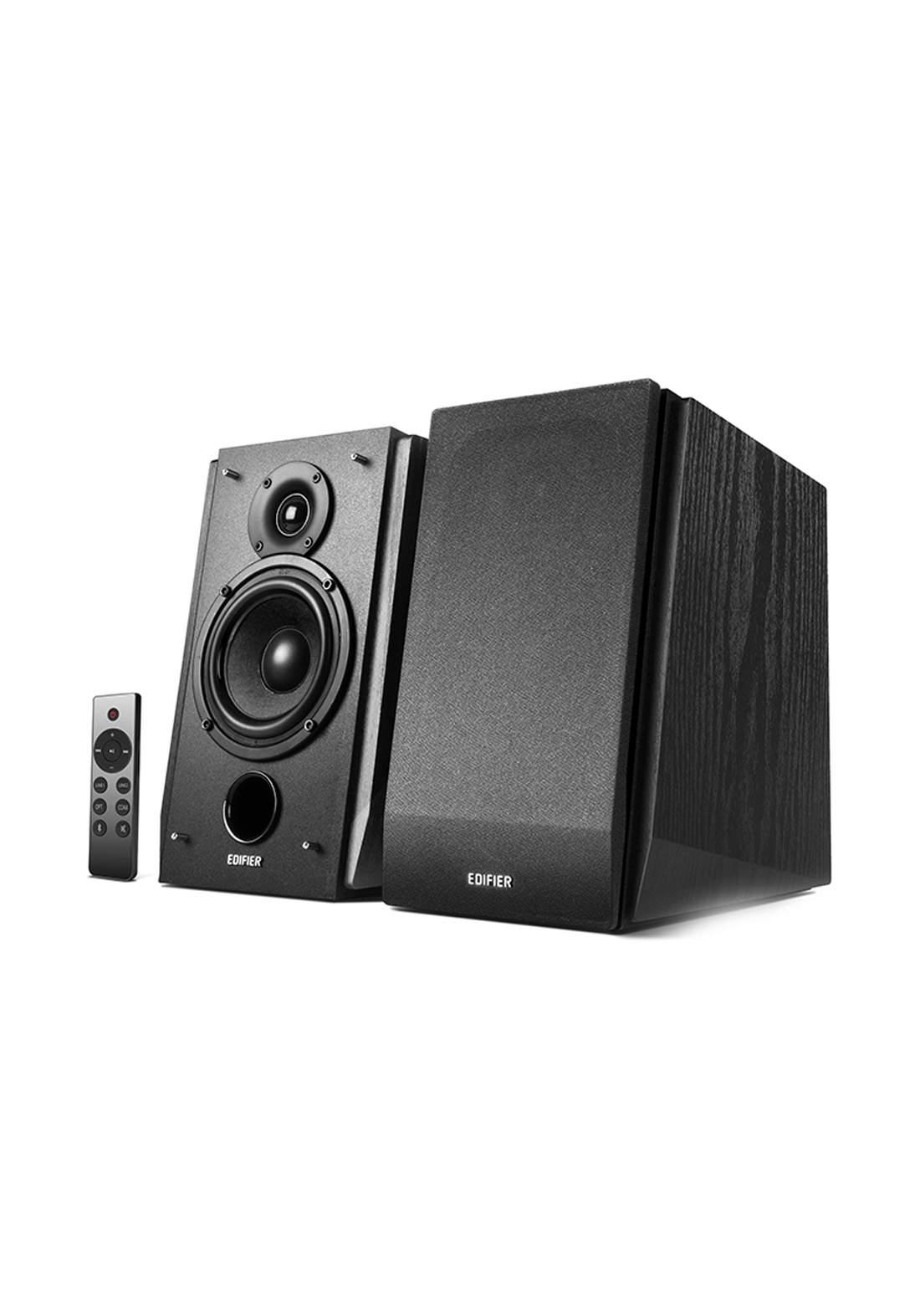 Edifier R1855DB Active 2.0 Bluetooth Bookshelf Speaker Set - Black  مضخم صوت