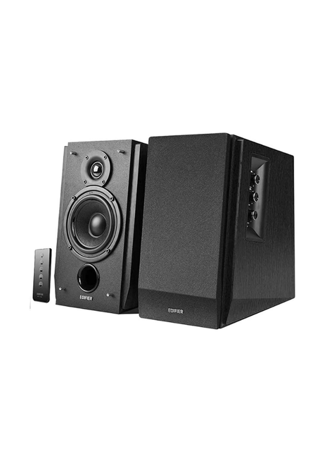 Edifier R1700BT Bluetooth Bookshelf - Black  مضخم صوت