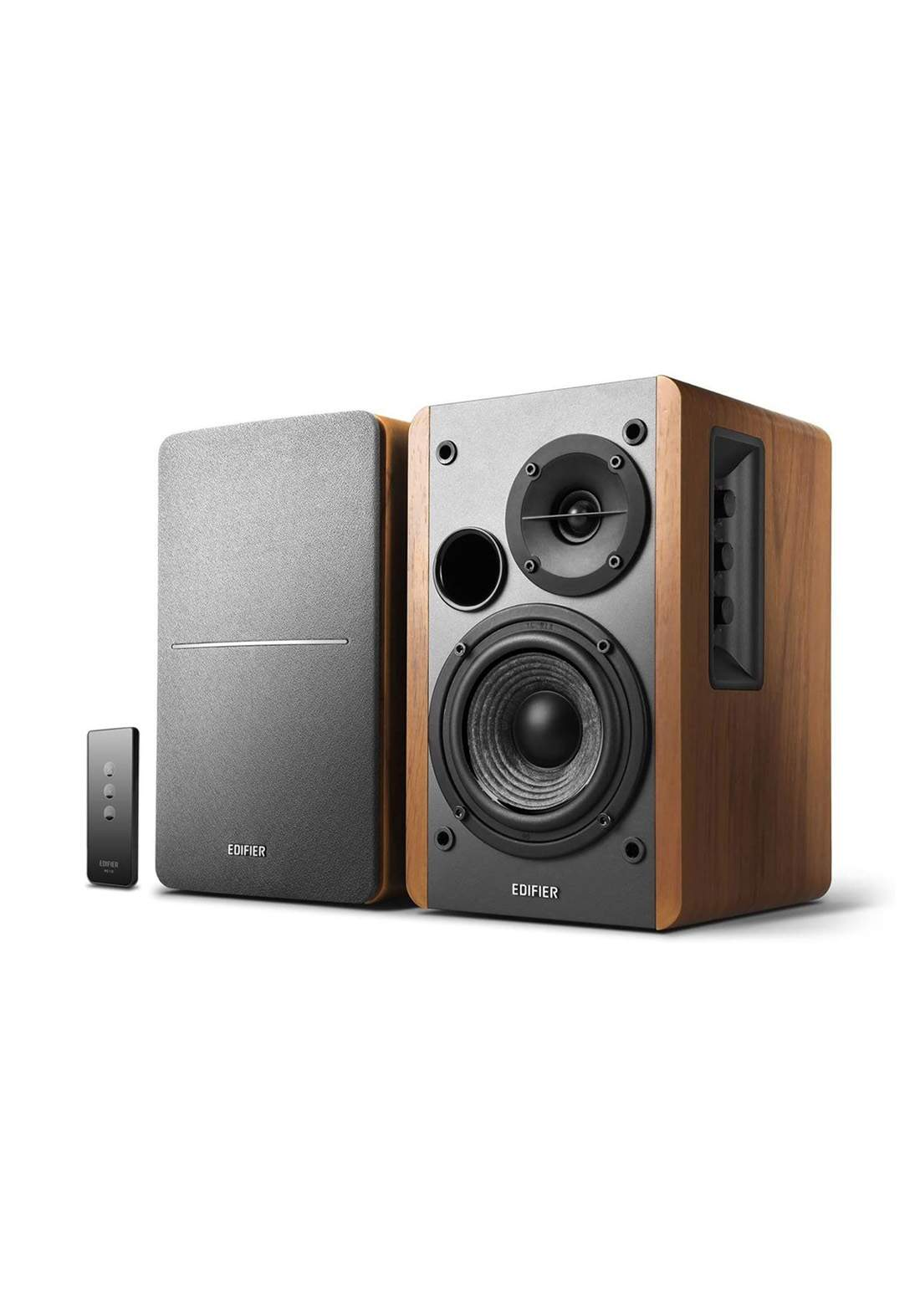 Edifier R1280T Powered Bookshelf Speakers - Brown مضخم صوت