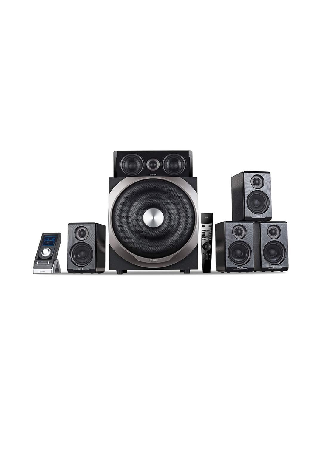 Edifier S760D 5.1 Active Multimedia Speaker System - Gray مضخم صوت