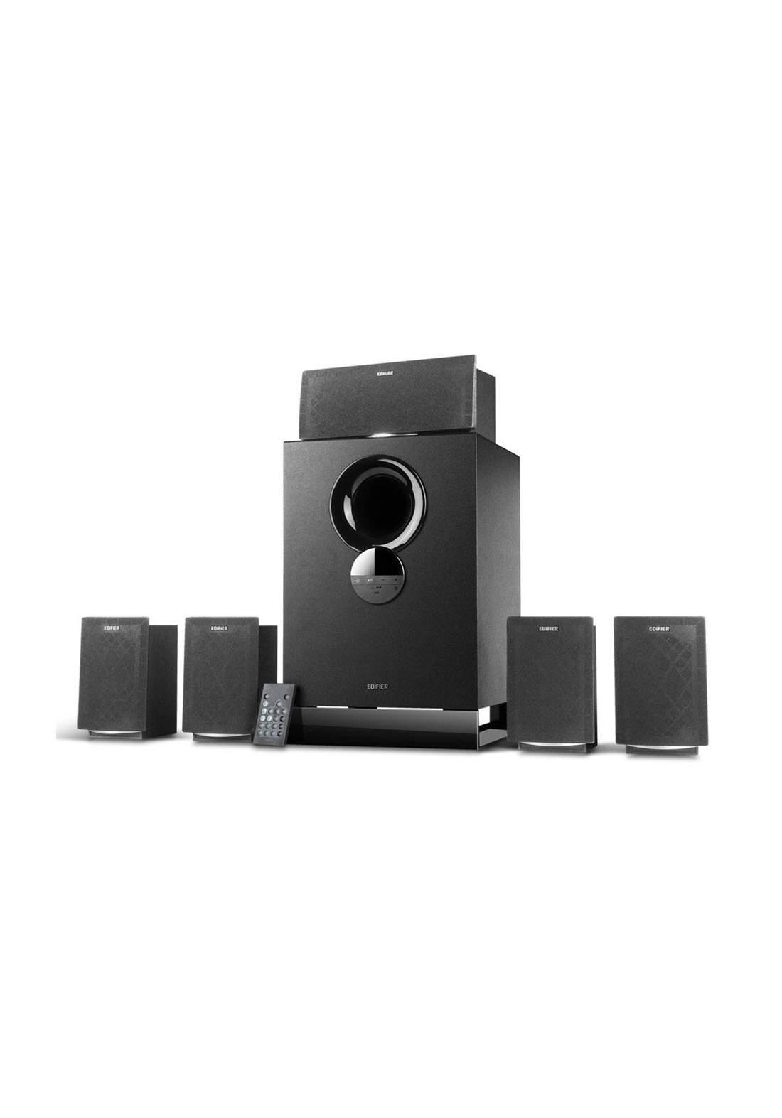 Edifier R501BT Versatile 5.1 Speaker System With Bluetooth - Black مضخم صوت