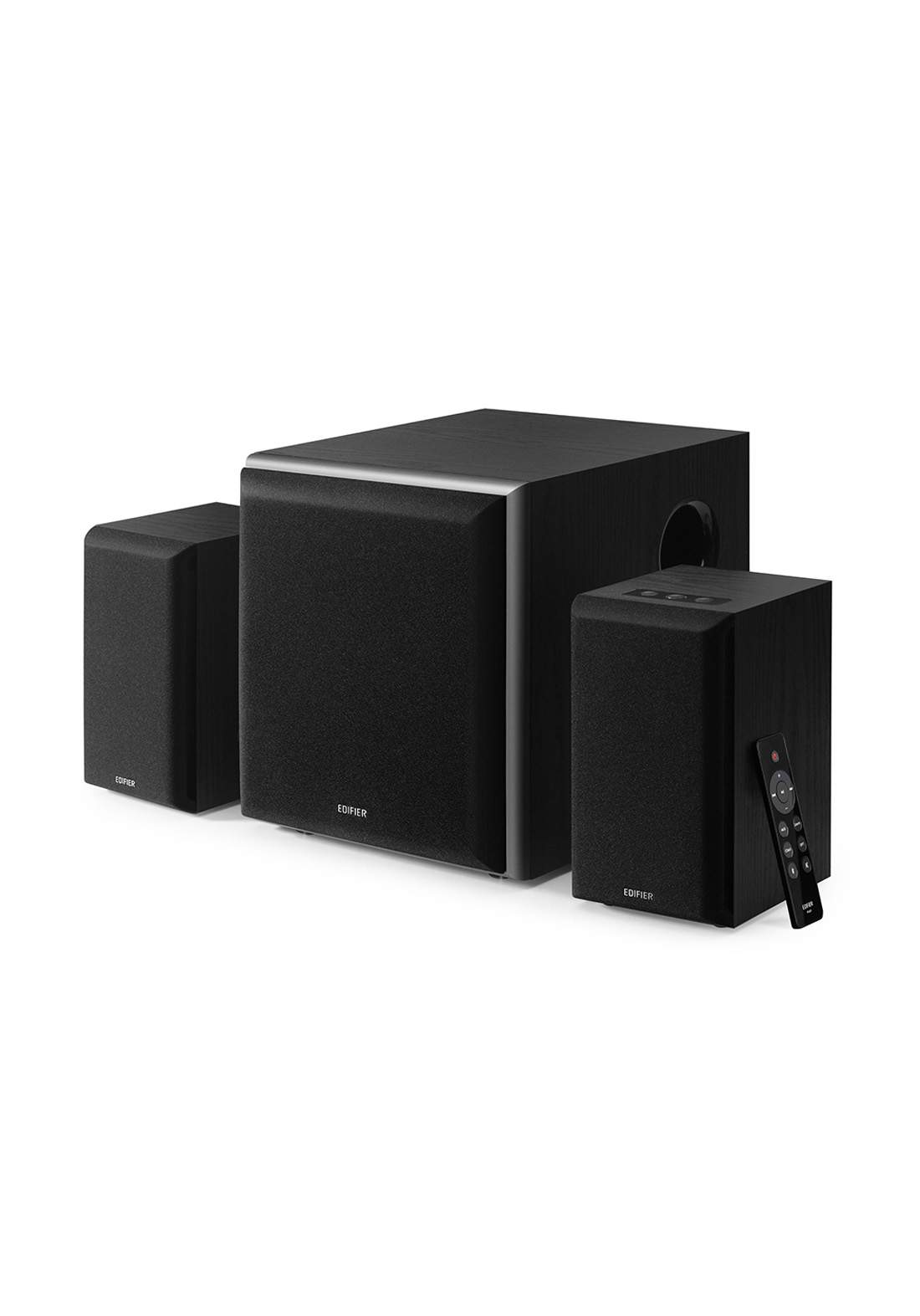 Edifier M601DB Computer Speaker System with Wireless Subwoofer - Black  مضخم صوت