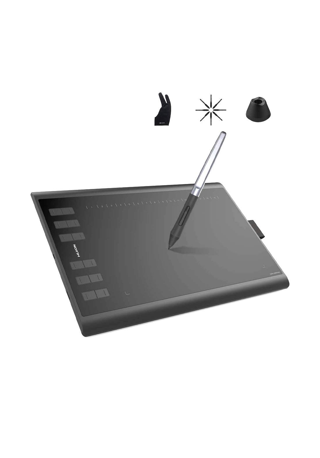 Huion Inspiroy H1060P Graphic Drawing Tablet - Black
