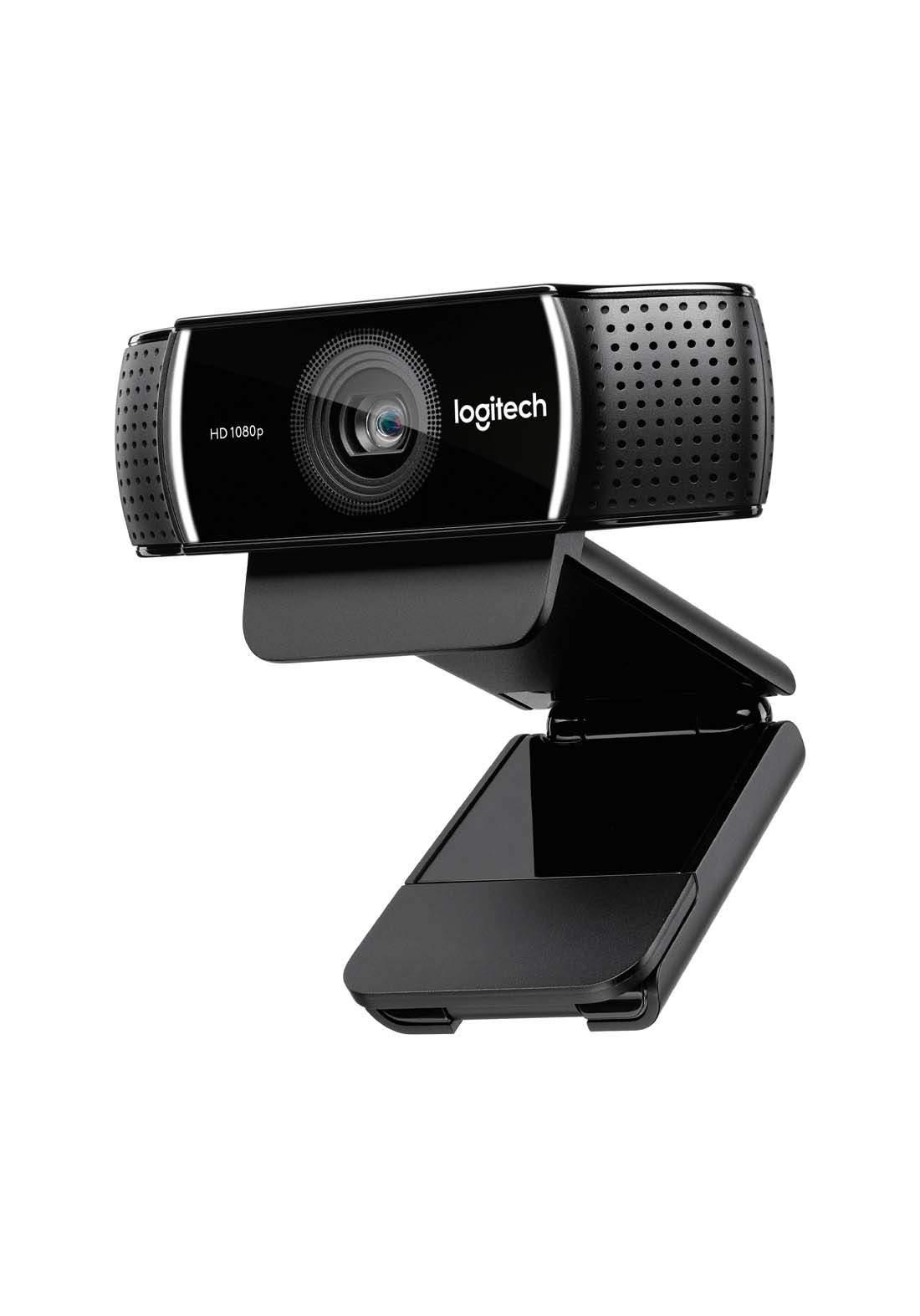 Logitech C922 Pro Stream Webcam  - Black كاميرا