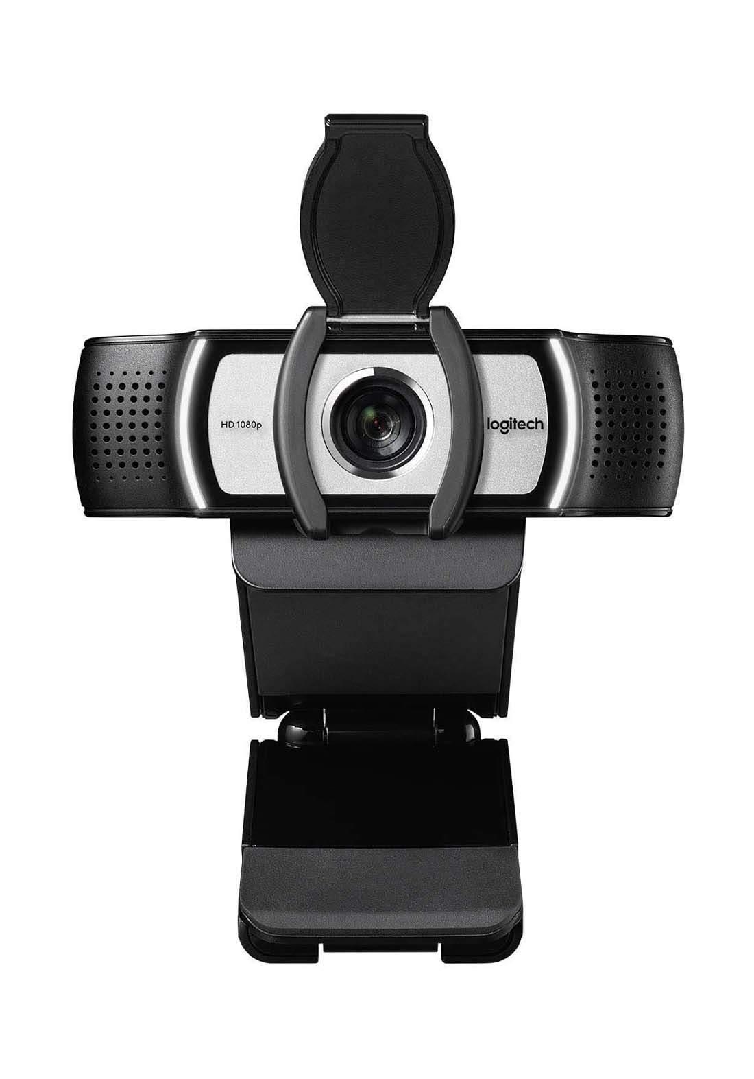 Logitech C930c HD Smart 1080P Webcam - Black كاميرا