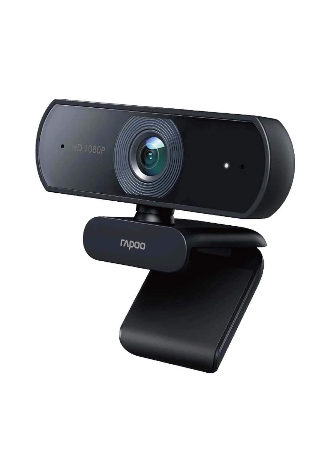 Rapoo C260 USB 1080p Full HD Webcam - Black كاميرا