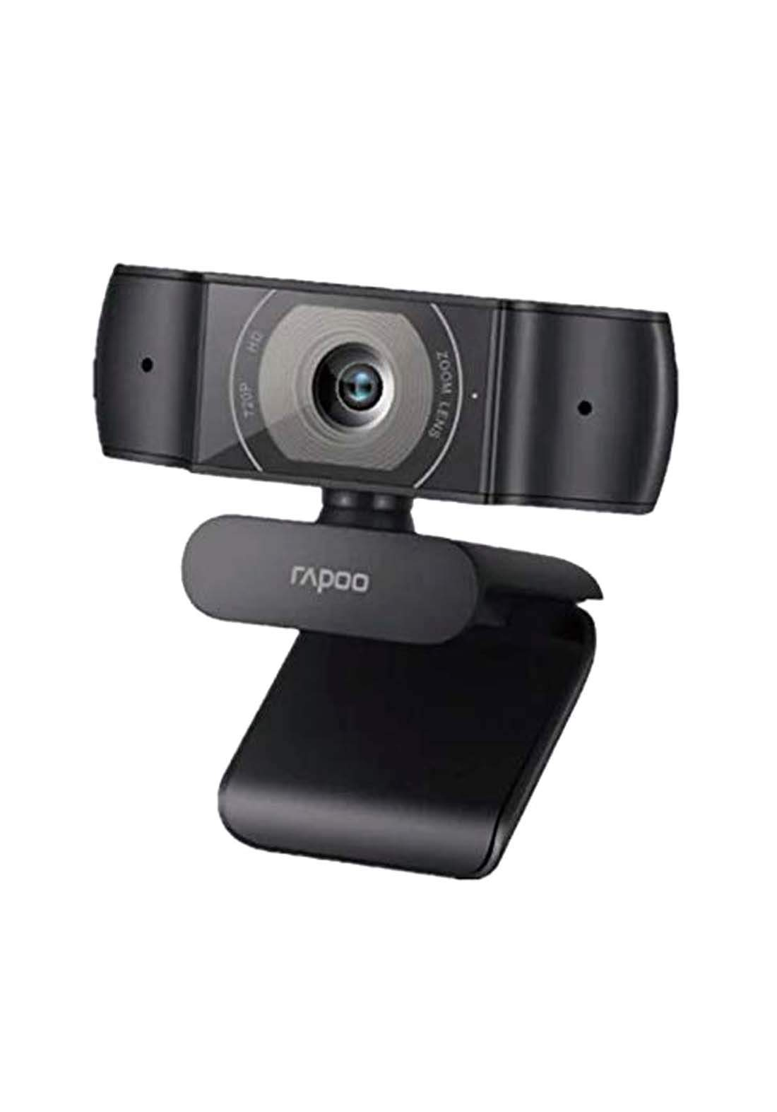 Rapoo C200 720P HD Webcam  - Black كاميرا