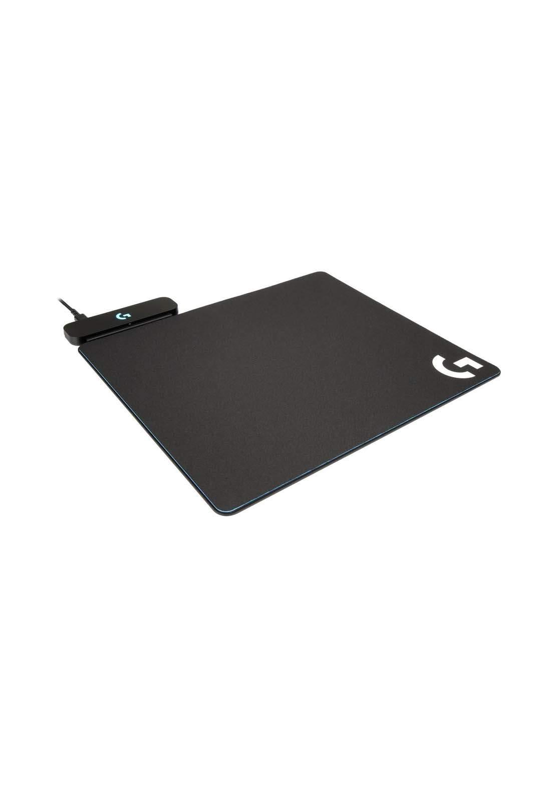 Logitech G Powerplay Wireless Charging System for G703, G903, G502 Lightspeed Wireless Gaming Mice - Black لوحة ماوس