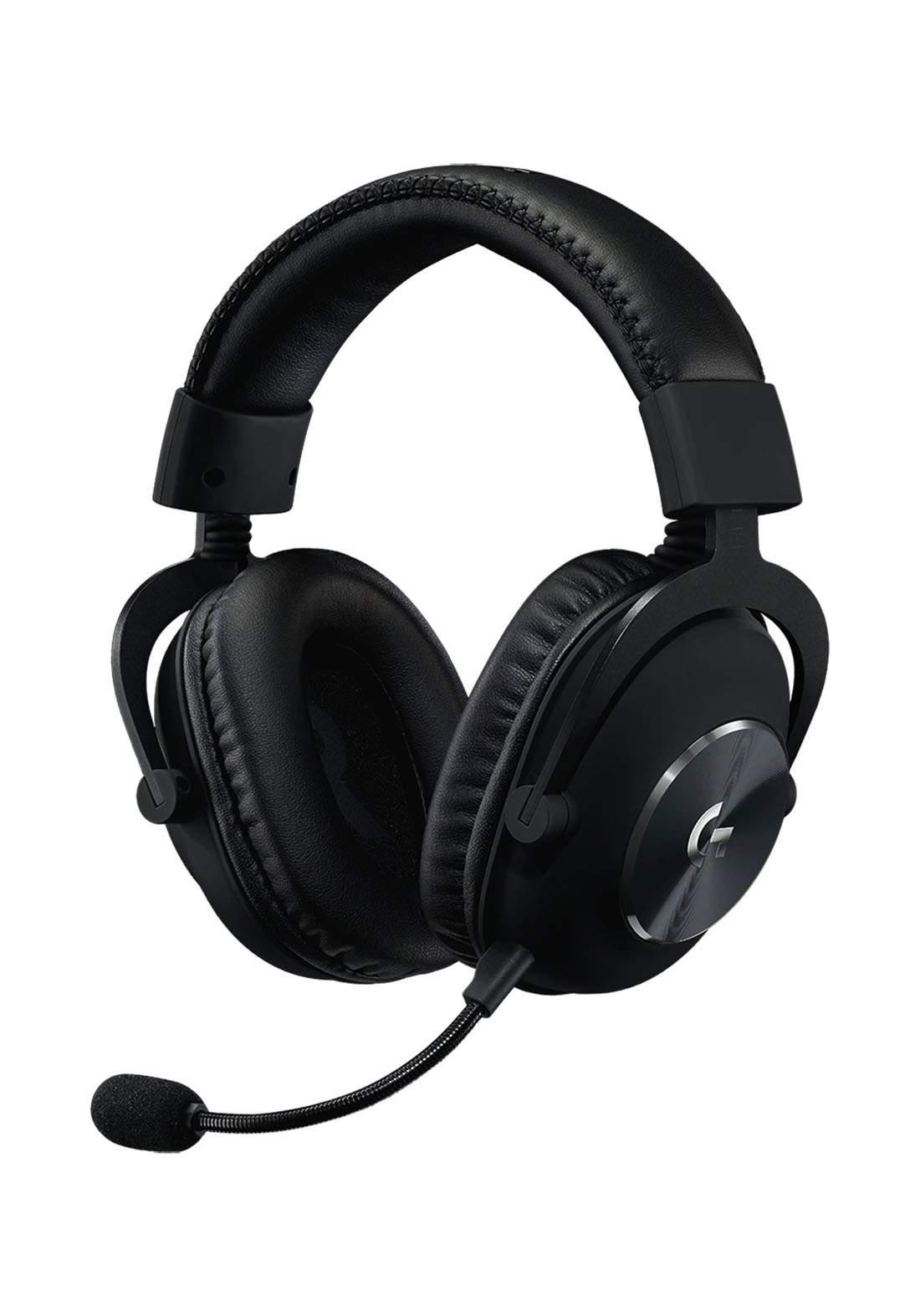 Logitech PRO X Wired Gaming Headset - Black سماعة