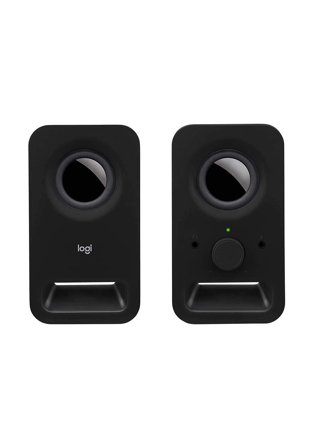 Logitech Z150 Multimedia Speakers with Stereo Sound for Multiple Devices  - Black سبيكر