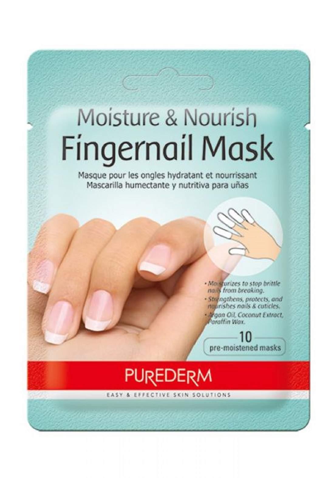 Purederam Fingernail Mask ماسك العناية بالأظافر الكوري