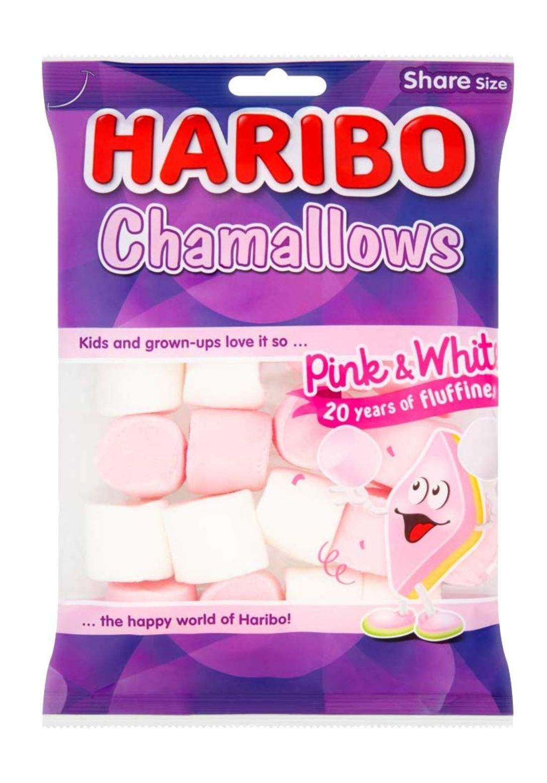 Haribo Chamallows حلوى مارشميلو هاريبو