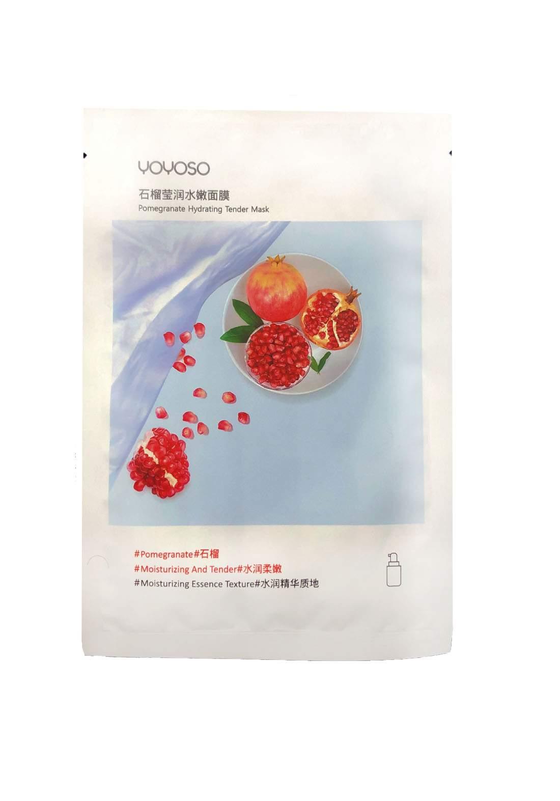Yoyo So Pomegranate Hydrating Tender Mask ماسك للوجه