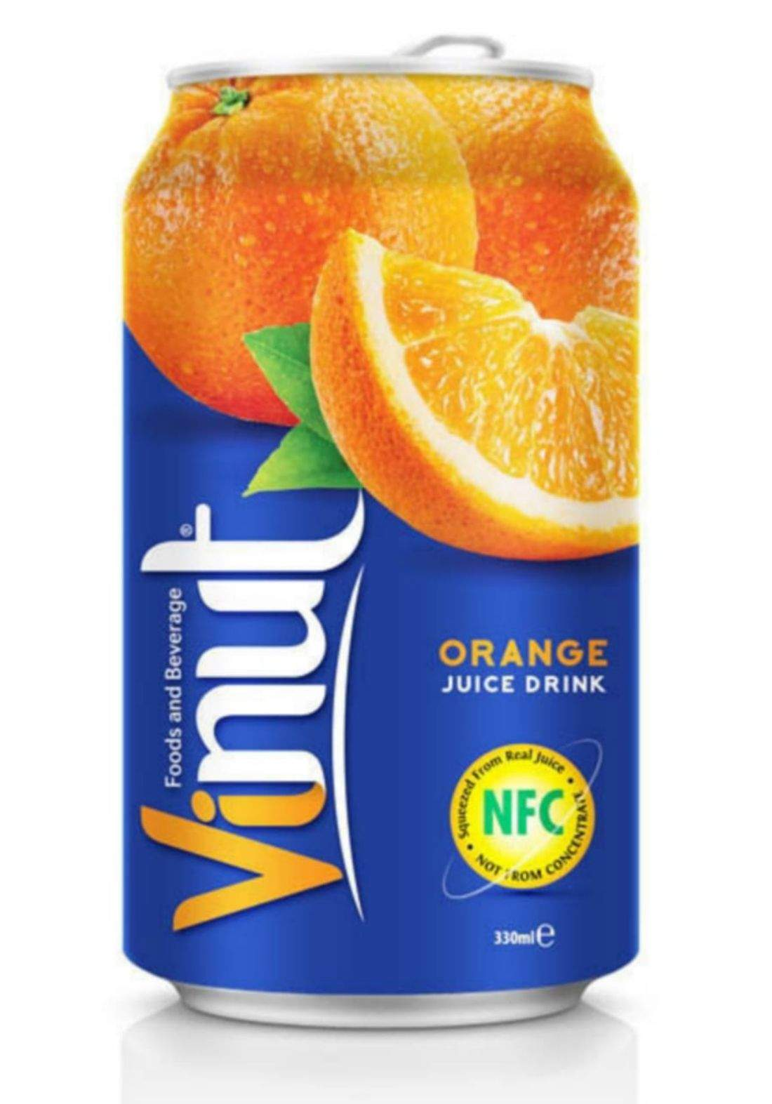 Vinut Orange Juice فينوت عصير برتقال 330 مل