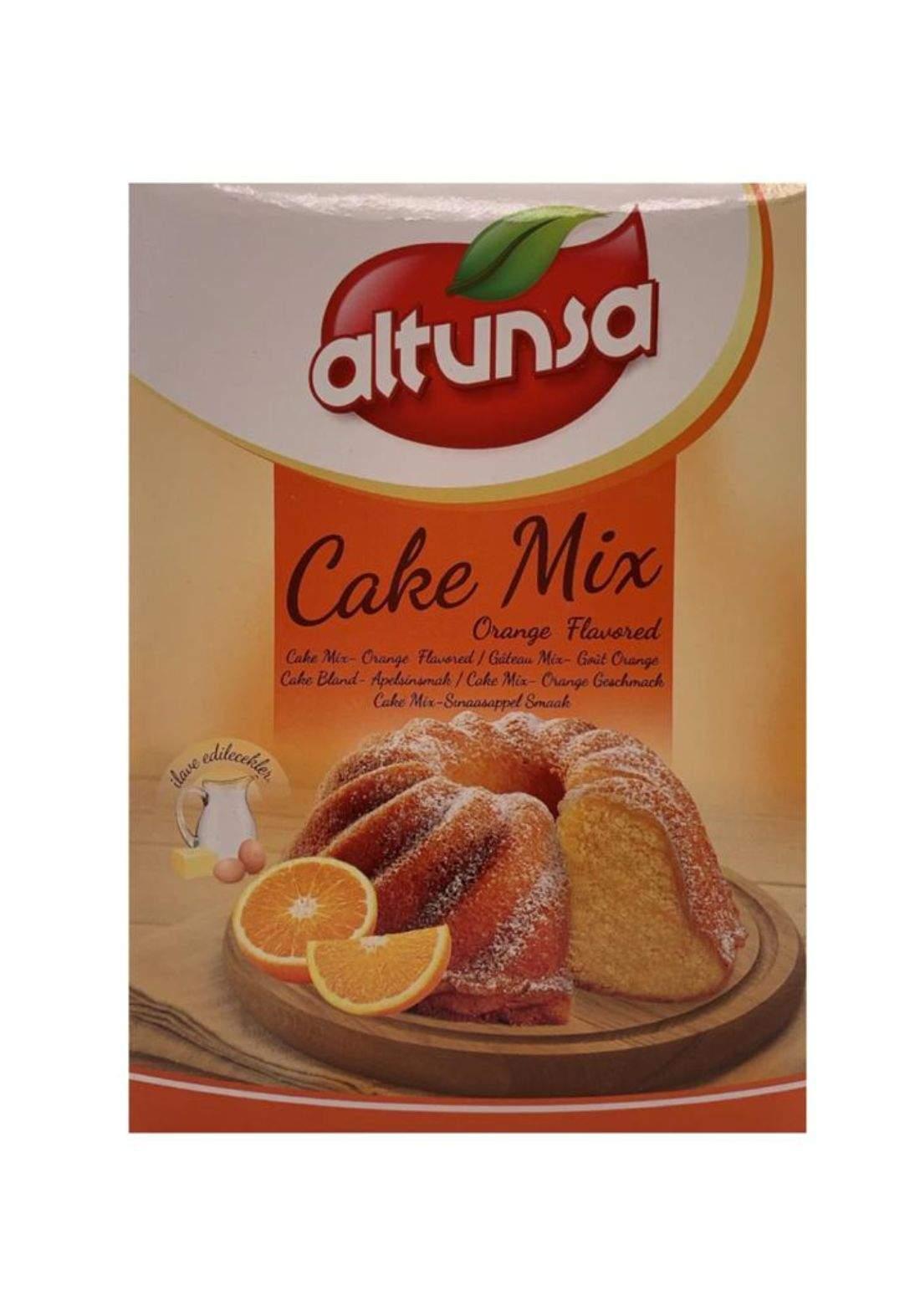Altunsa Orange cake mix 500g التون سا خليط الكيك بالبرتقال