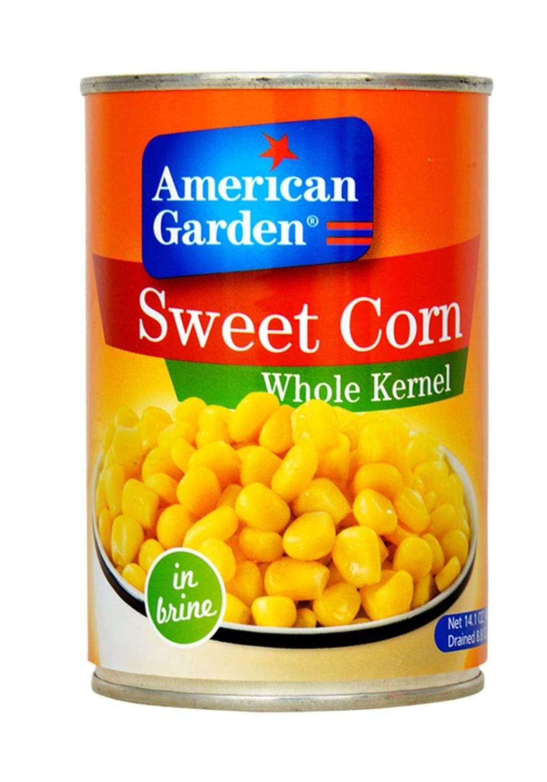 American Garden Corn ذرة جاهزة