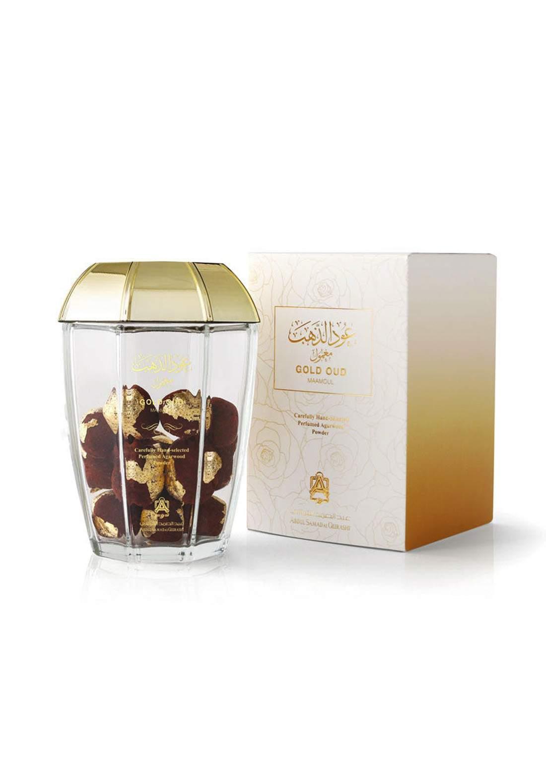 Abdul Samad Al Qurashi 74047 Gold Oud Maamoul Perfumed Agarwood Powder معمول عود الذهب