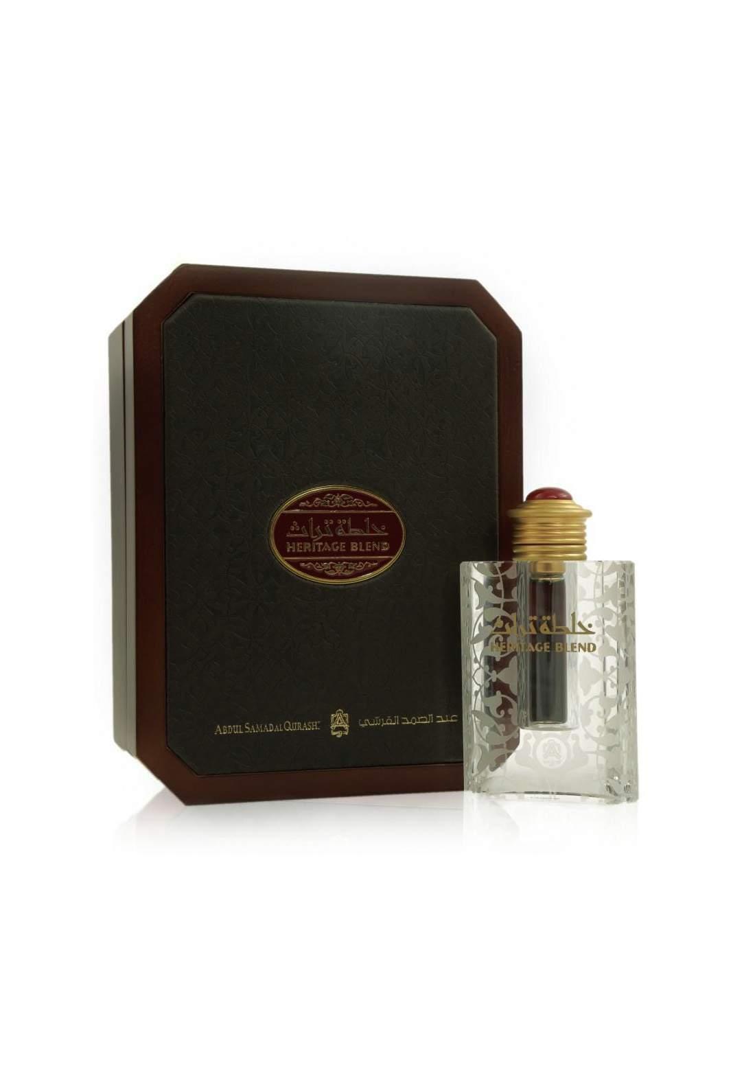 Abdul Samad Al Qurashi 72050 Heritage Blend Perfume Oil 12 ml عطر زيتي رجالي ونسائي
