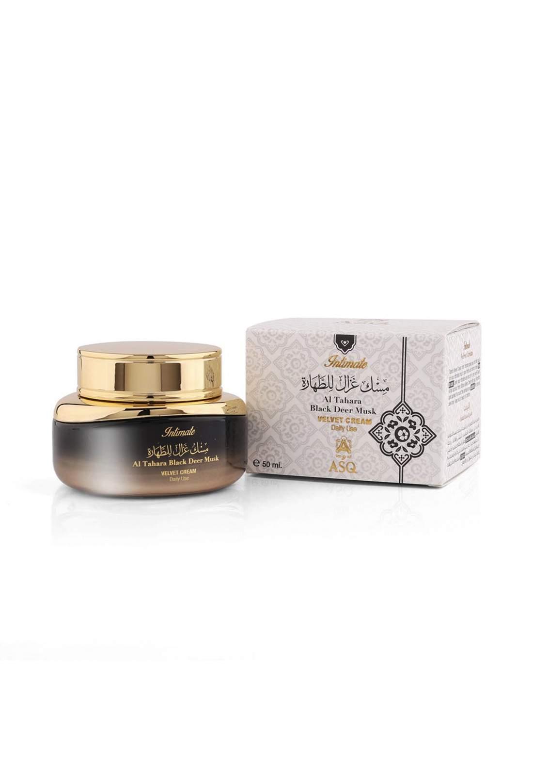 Abdul Samad Al Qurashi 76156  Tahara Black Deer Musk Velvet Cream مسك غزال الطهارة للنساء
