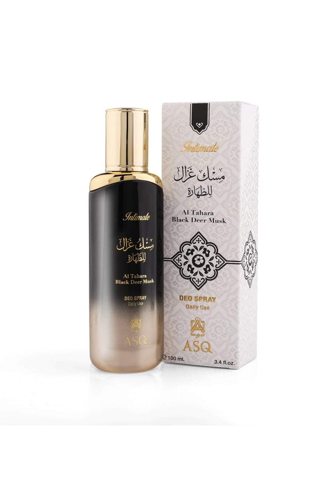 Abdul Samad Al Qurashi 71586 Tahara Black Deer Musk  Deo Spray 100 ml بخاخ معطر للنساء