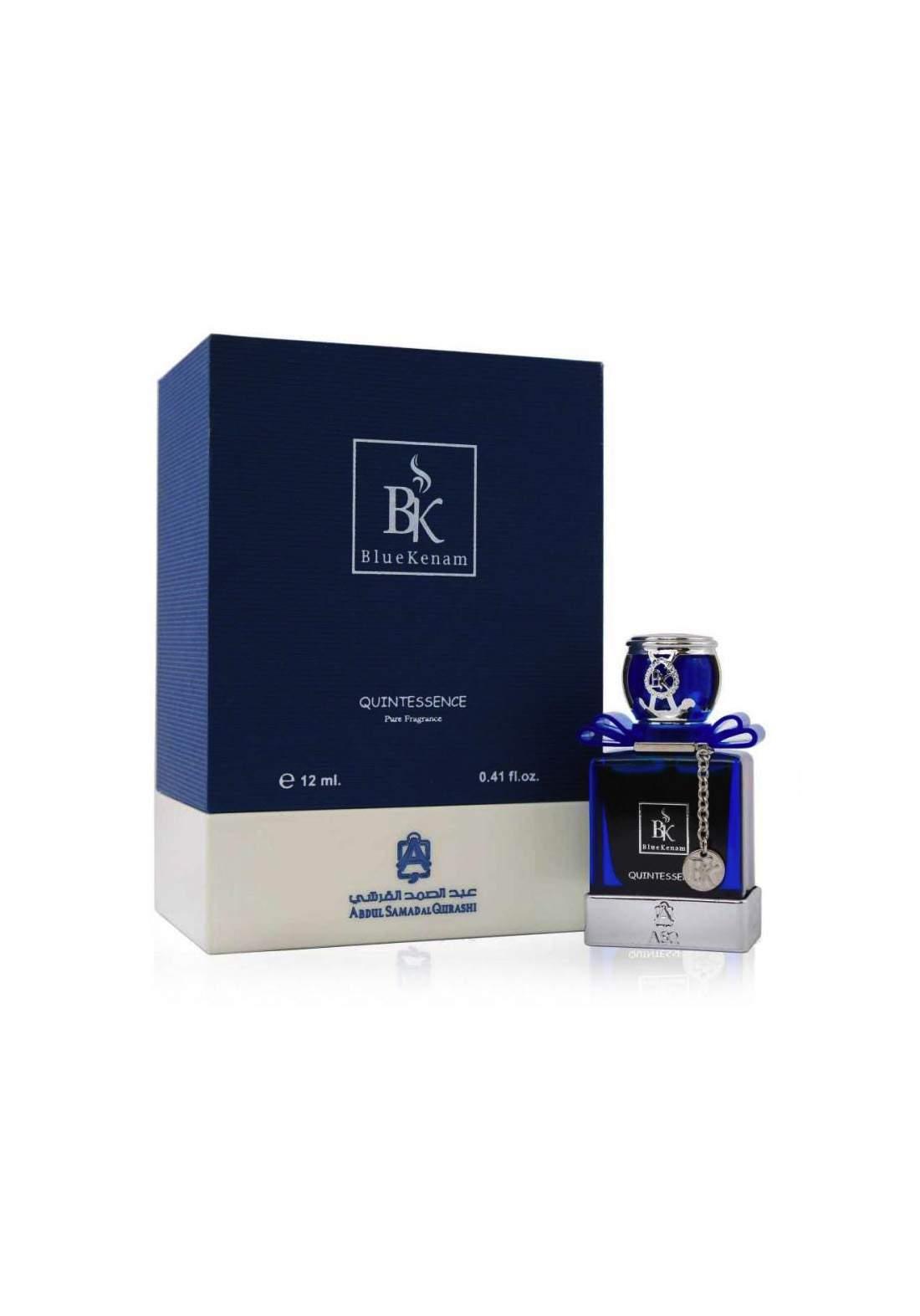Abdul Samad Al Qurashi 72082 Blue Kenam  Quintessence Pure Fragrance Perfume Oil 12 ml عطر زيتي عطر رجالي ونسائي