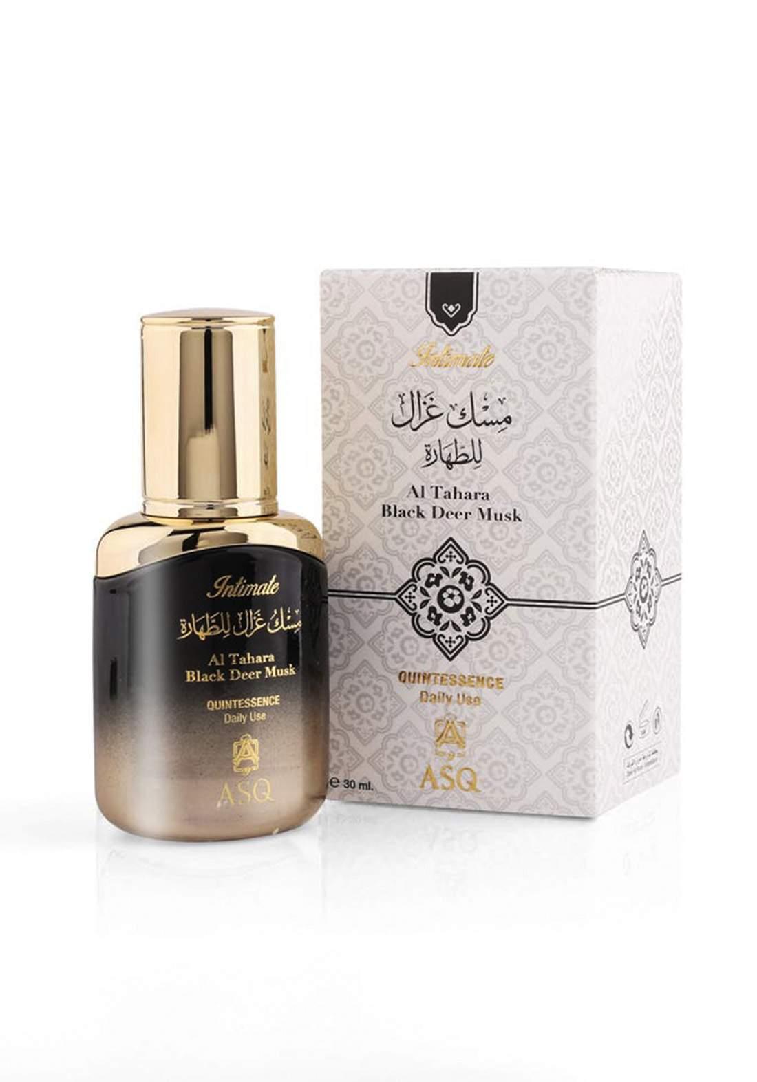 Abdul Samad Al Qurashi 72137 Tahara Black Deer Musk Quintessence  30 ml  عطر زيتي  نسائي للجسم