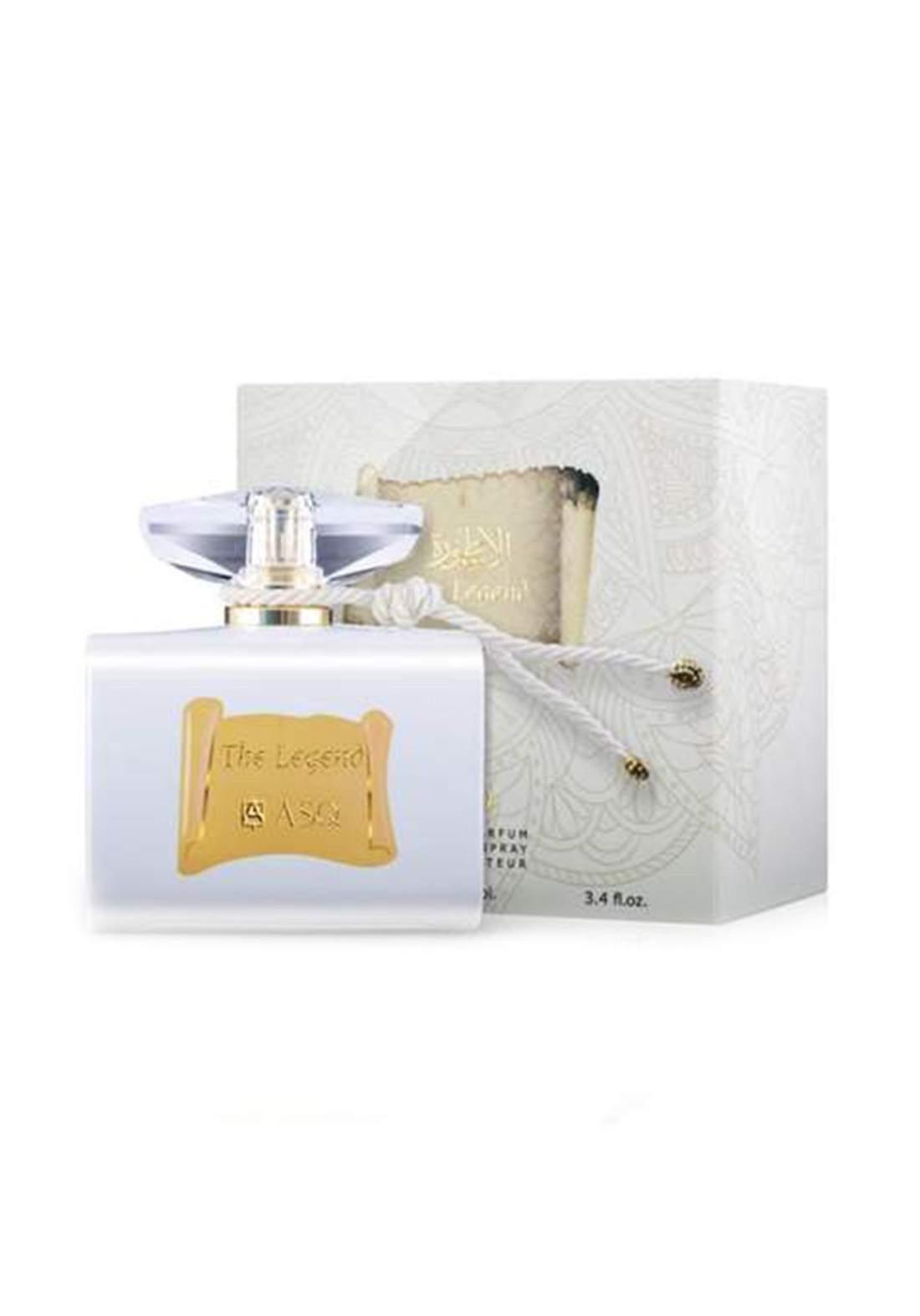 Abdul Samad Al Qurashi 71309 The Legend White Eau De Parfum 100ml عطر