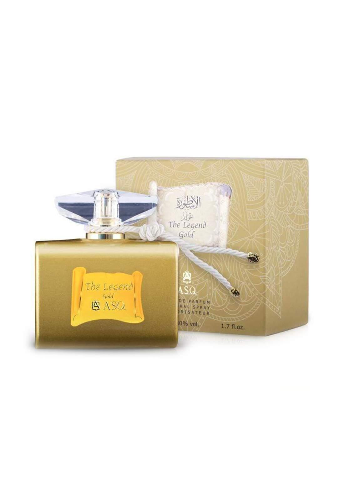Abdul Samad Al Qurashi 71310 The Legend Gold Eau De Parfum 100ml عطر
