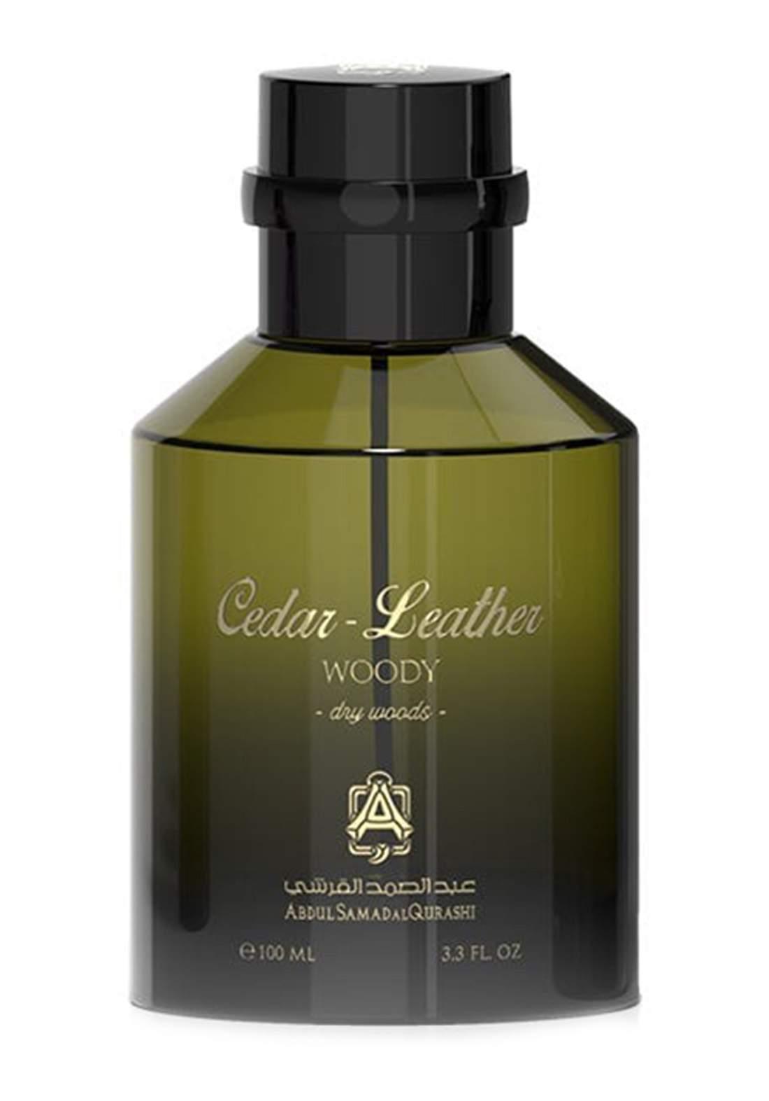 Abdul Samad Al Qurashi 71398 Cedar Leather Perfume 100ml عطر