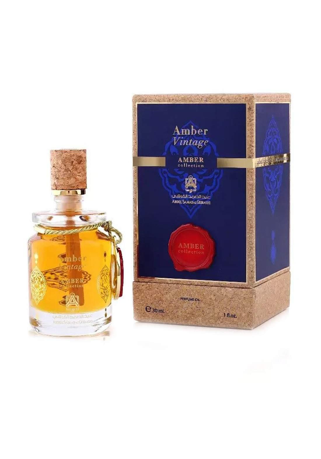 Abdul Samad Al Qurashi 71596  Amber Vintage Perfume 100ml عطر