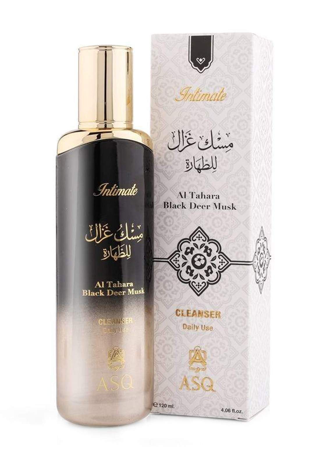 Abdul Samad Al Qurashi 76155 Tahara Black Deer Musk - Cleanser 120ml غسول للجسم