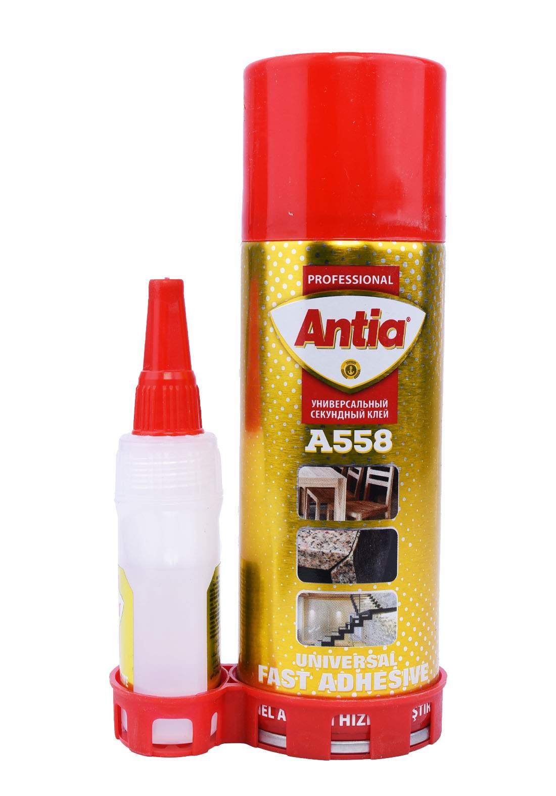 Antia An-E7005 Universal Fast Adhesive Mdf A558 200ml لاصق سريع