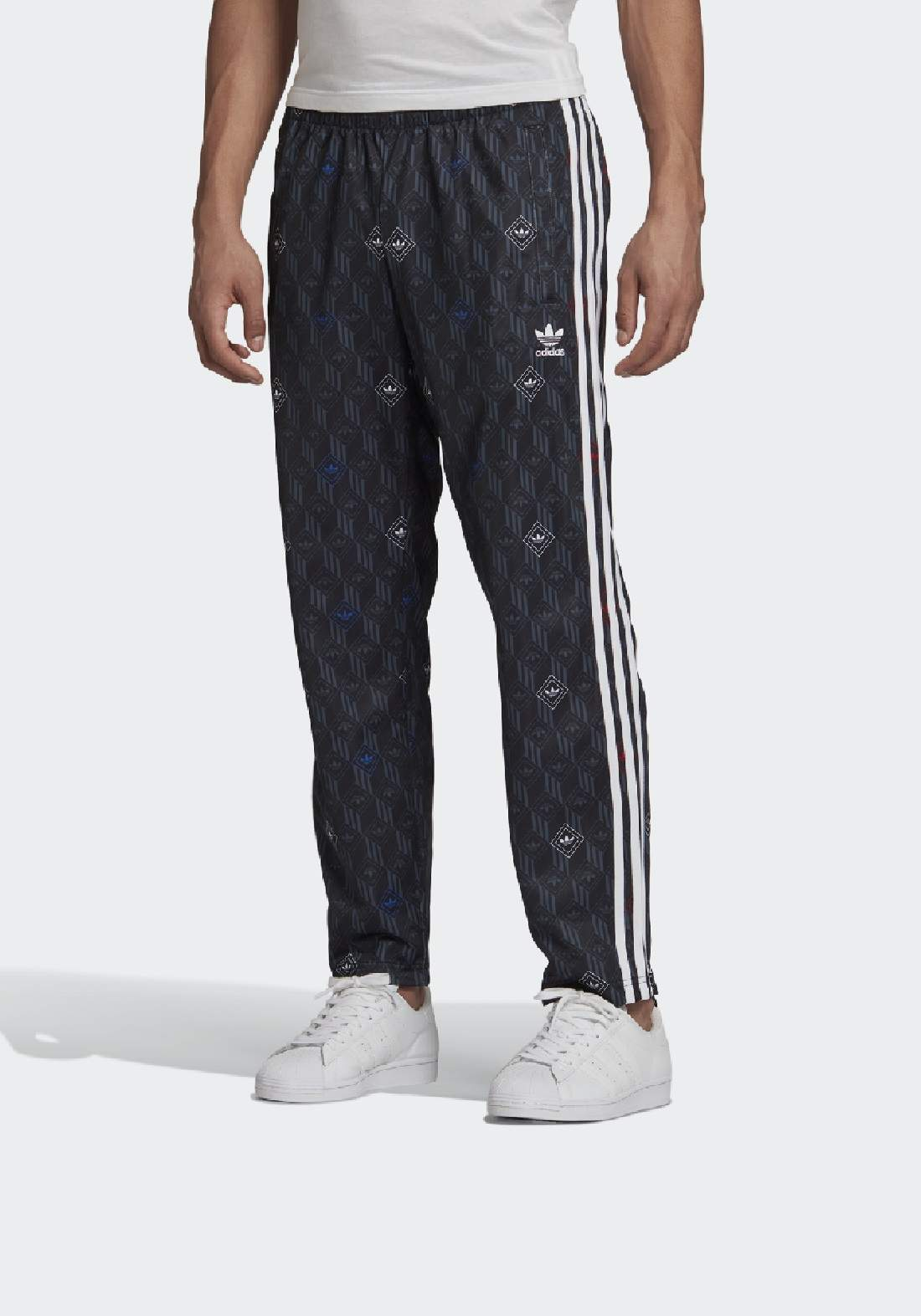 Adidas بنطلون رياضي رجالي متعدد الالوان من