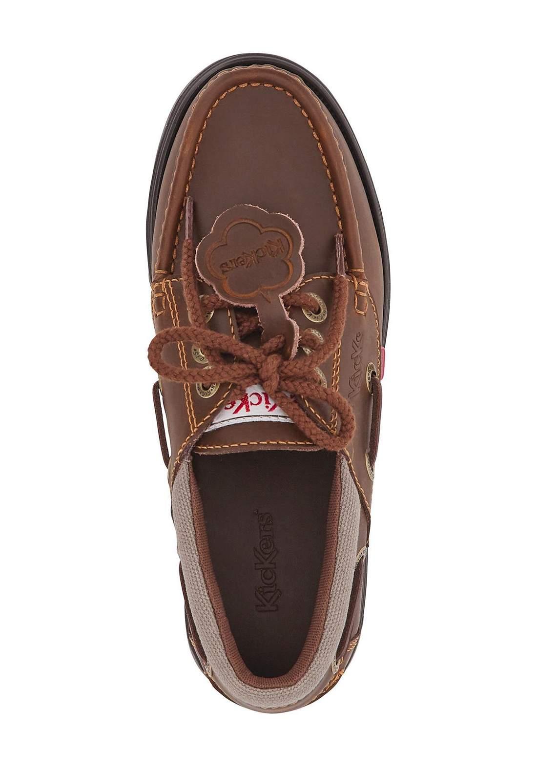 حذاء رسمي رجالي لون بني غامق