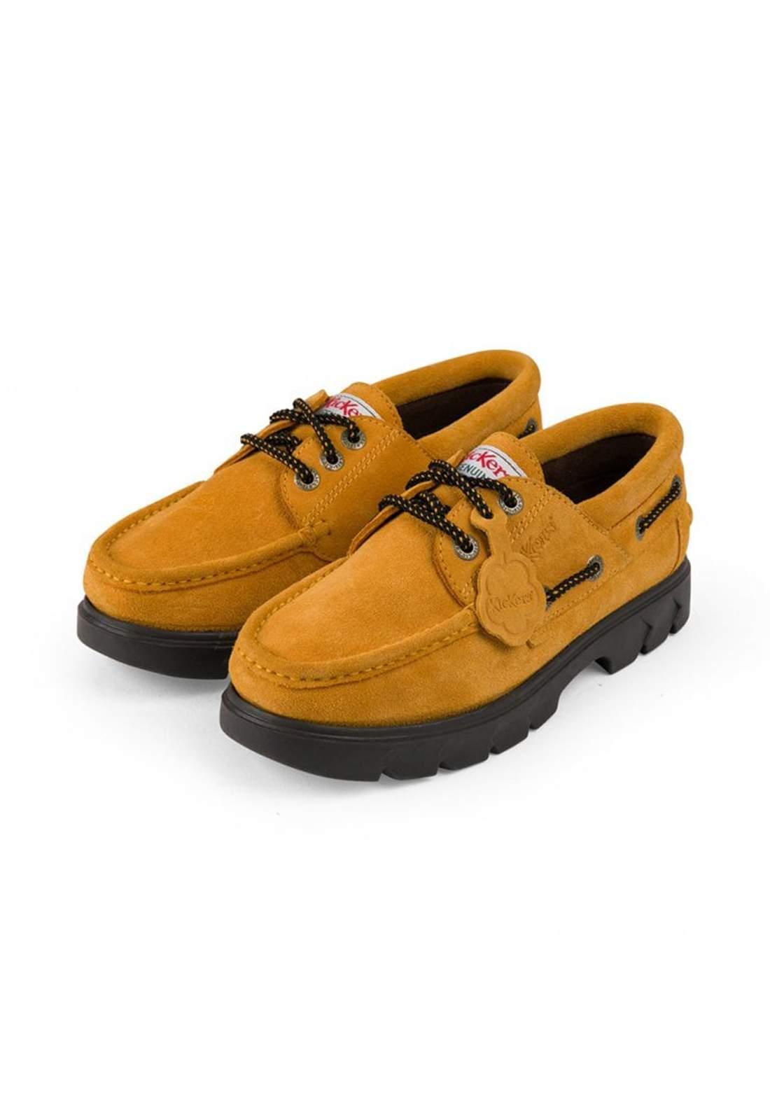 حذاء رسمي رجالي شمواه بلون خردلي