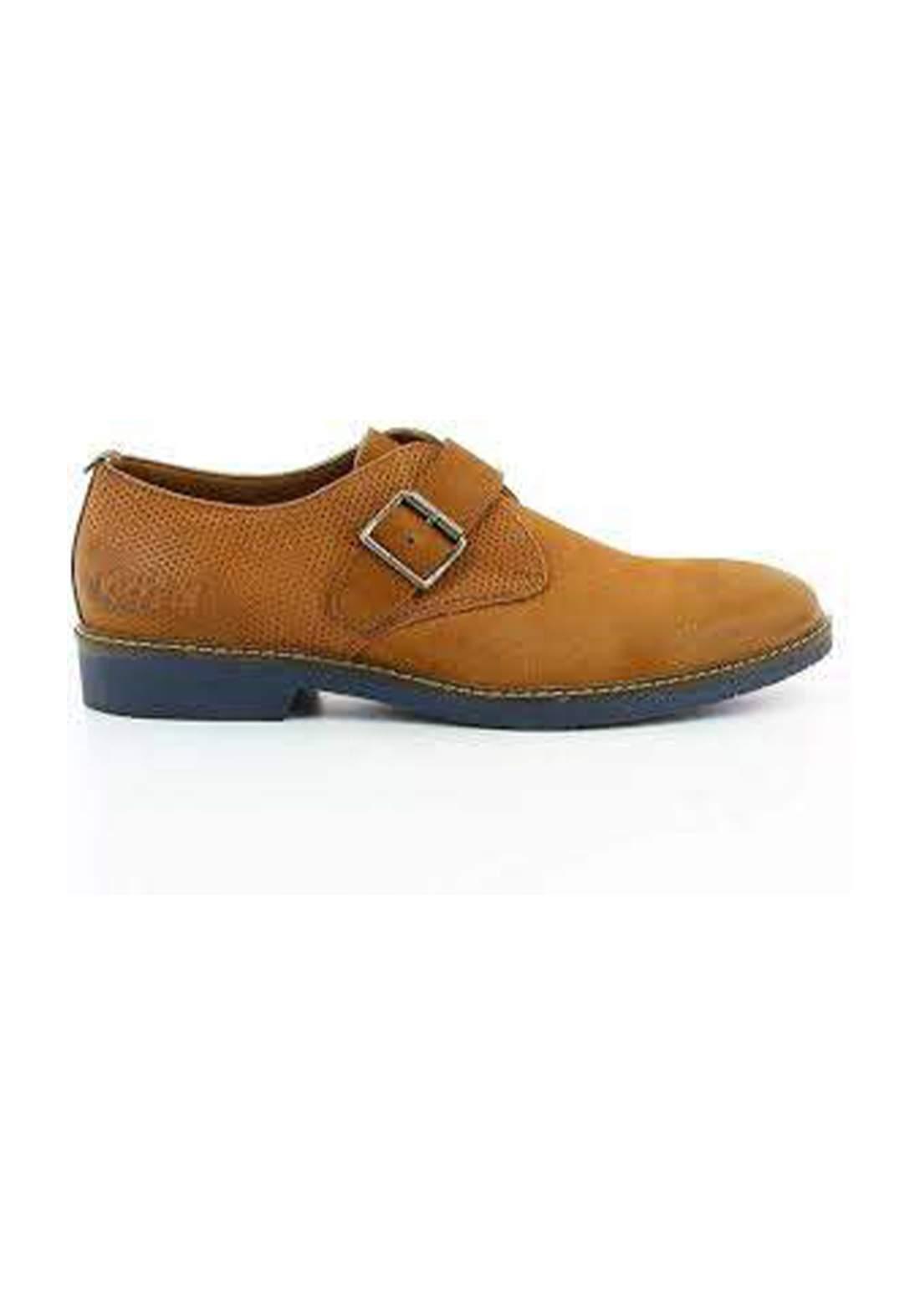 حذاء رسمي رجالي بلون خردلي