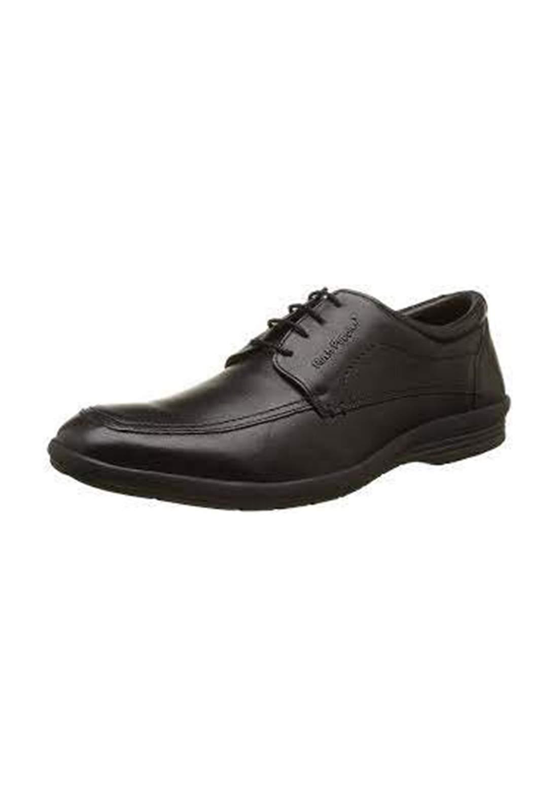حذاء رجالي رسمي جلد لون اسود