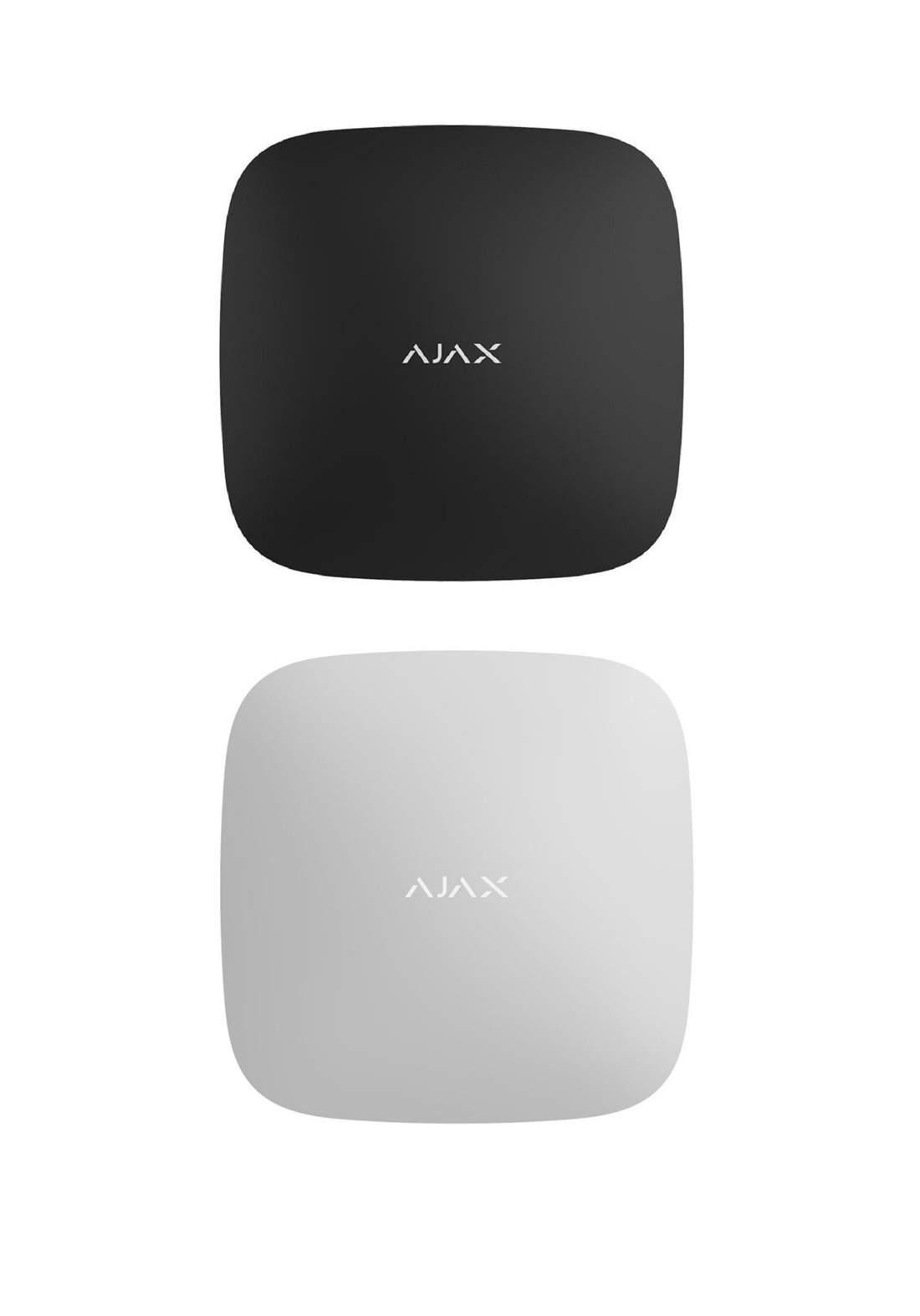 Ajax Fire protect plus حساس لاسلكي داخلي كاشف للدخان والارتفاع السريع لدرجه الحرارة وغاز احادي أوكسيد الكاربون