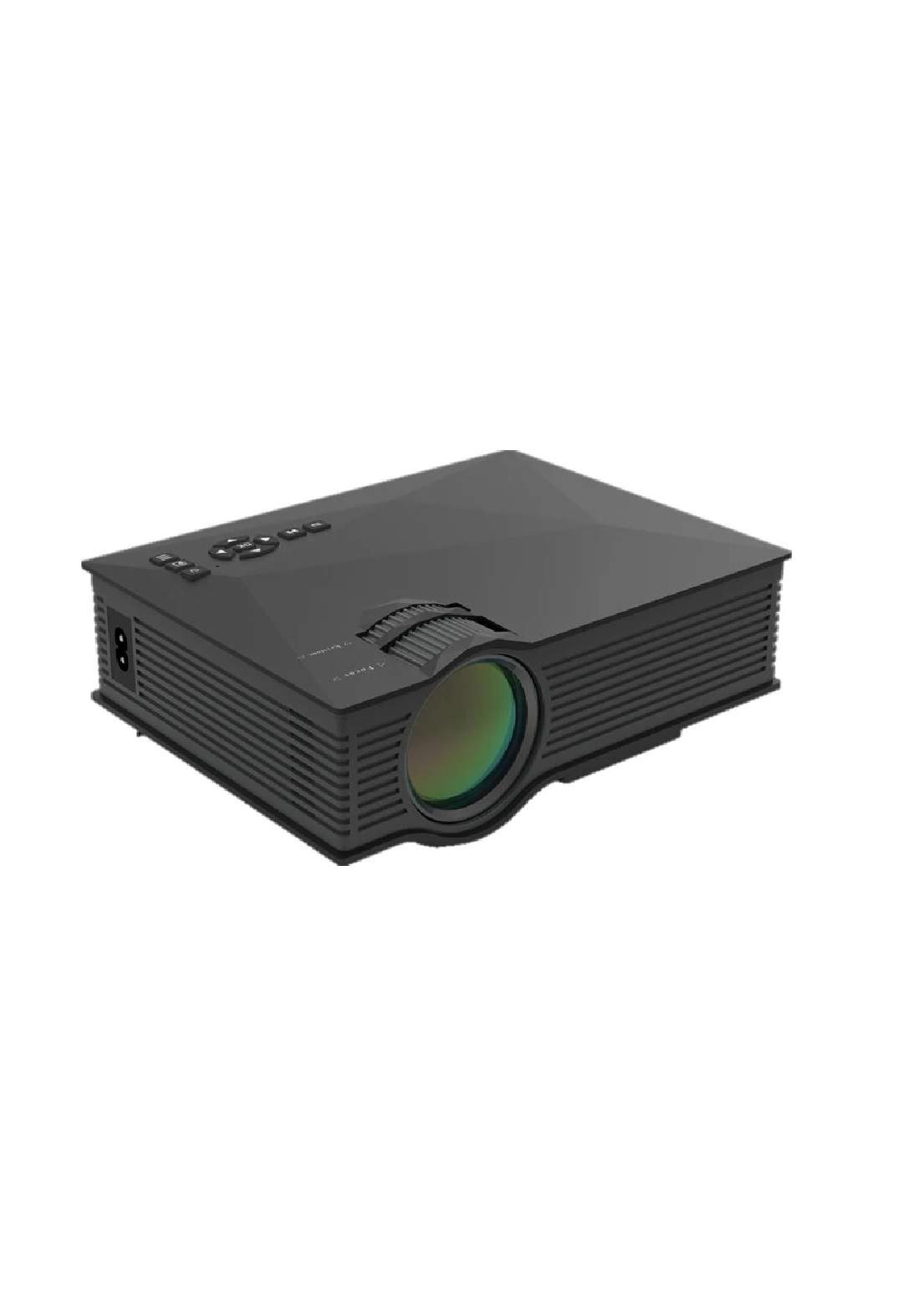 United Media Center UC68 Projector - Black