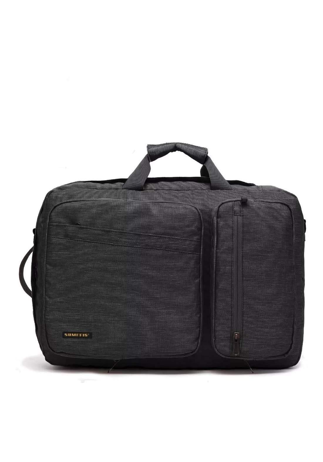 Laptop Bag Pack  9676  - Gray حقيبة لابتوب